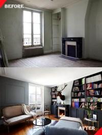 Small Space Parisian Apartment Renovation By Adrien Pillay