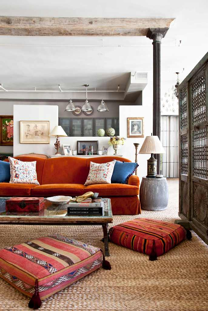bohemian style living room color schemes gray walls 31 inspiring decorating ideas for eclectic