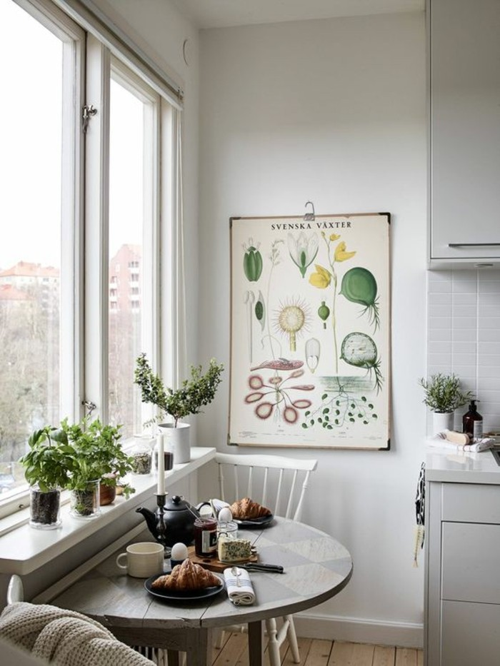 living room decor with plants wooden furniture 10 beautiful ways to decorate indoor plant in small kitchen table window sill decoration dining area