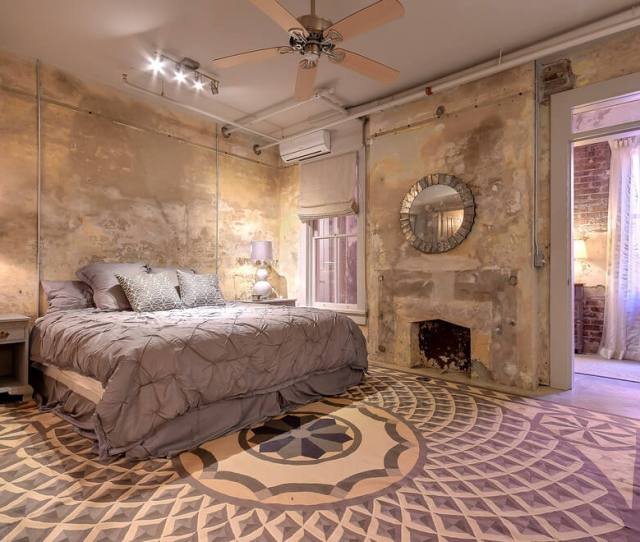 Shabby Chic Industrial Style Bedroom