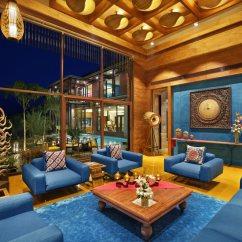 Mediterranean Living Room Small End Tables 10 Exotic Design Ideas 3 Shiny Jewel Tones Decor