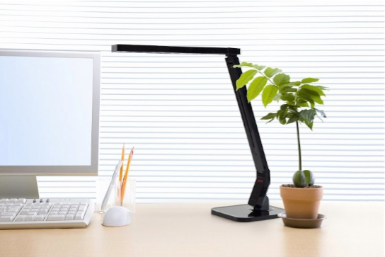 Softech - Natural Light Smart LED Desk Lamp with Tilting Head