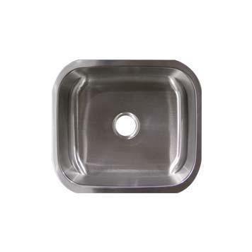 stainless steel undermount bar sink um16168