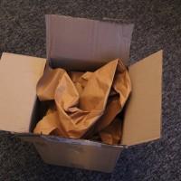 Paket geöffnet