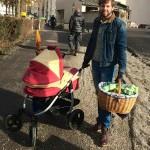 Pawel's Paleo Einkauf auf dem Wochenmarkt im Winter