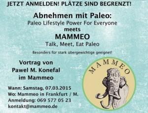 Mammeo Talk Meet Eat Paleo - Abnehmen Mit Paleo