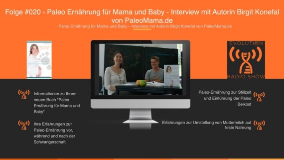 Paleo Ernährung für Mama und Baby – Interview mit Autorin Birgit Konefal von PaleoMama.de