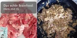 Rezept aus dem Buch - Das echte Brainfood: Hirn mit Ei