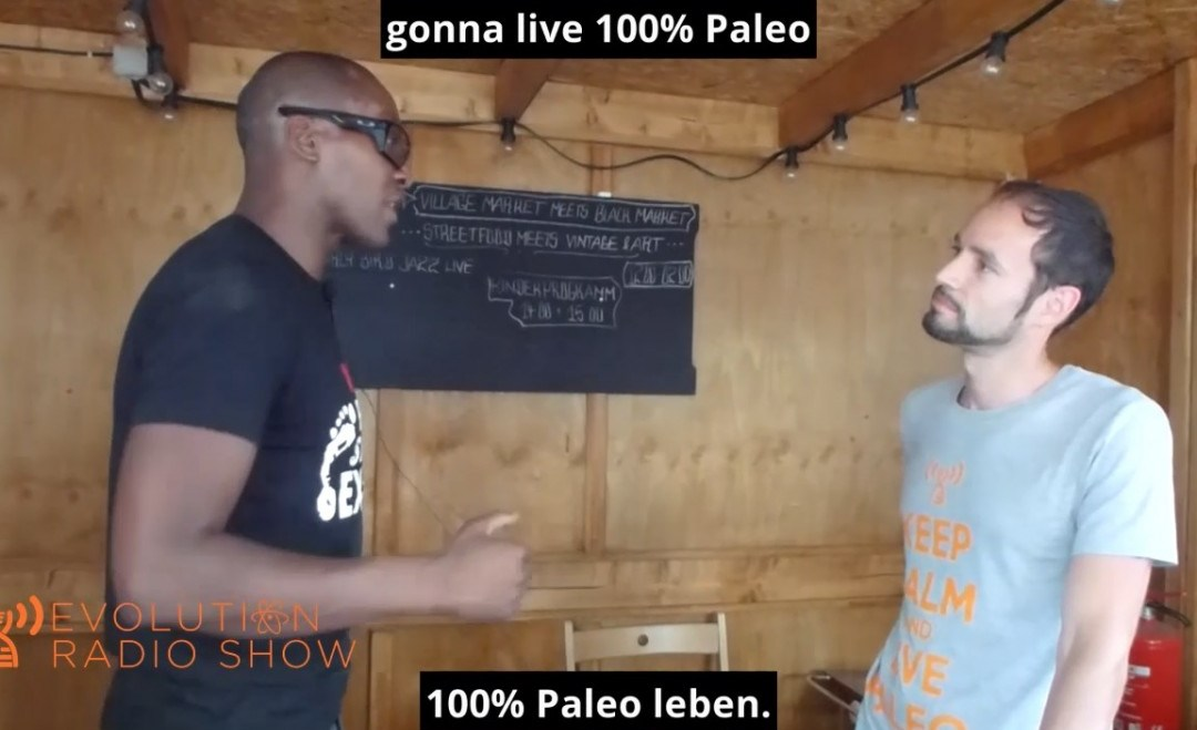 Evolution Radio Show Folge #024: 100% Paleo funktioniert nicht - Interview: Darryl Edwards