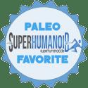 Paleo Favorite Stempel von superhumanoid.de