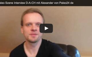 Video Interview mit Alexander von paleo24.de