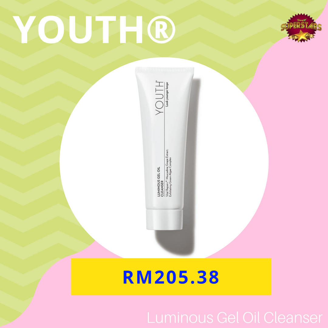HARGA YOUTH SHAKLEE - HARGA YOUTH LUMINOUS GEL OIL CLEANSER