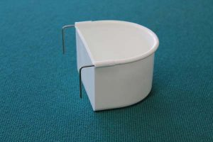 White 2 Hook Drinkers - Large