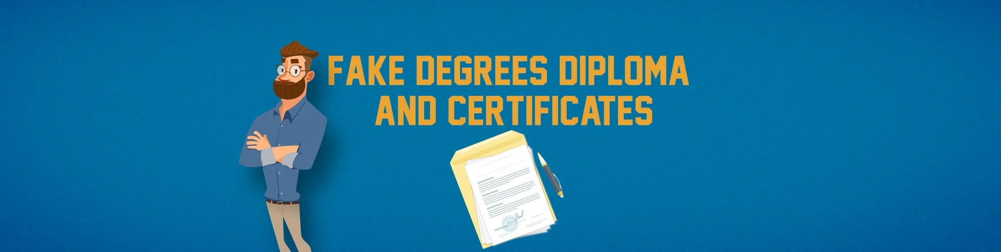 Avail Authentic Looking Fake Masters Degree At SFD
