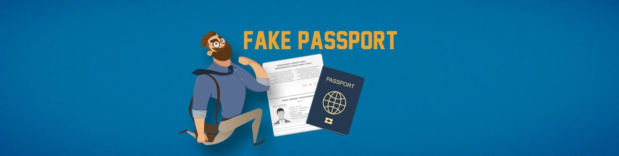 Fake Passport USA