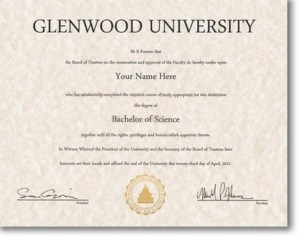 Fake University degree