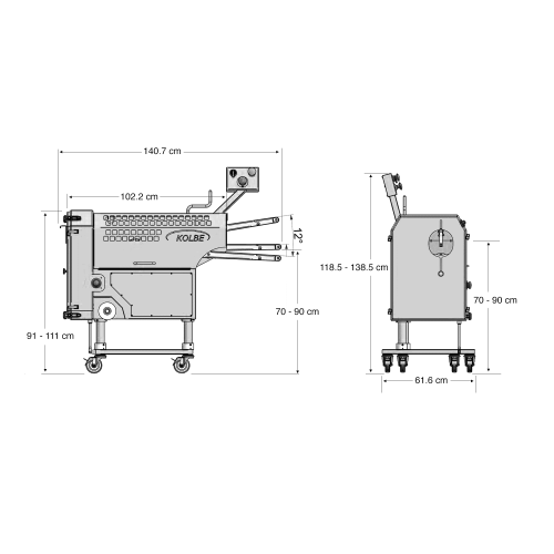 small resolution of minced meat portion line pm150 amp mwk32 80 mixer grinder
