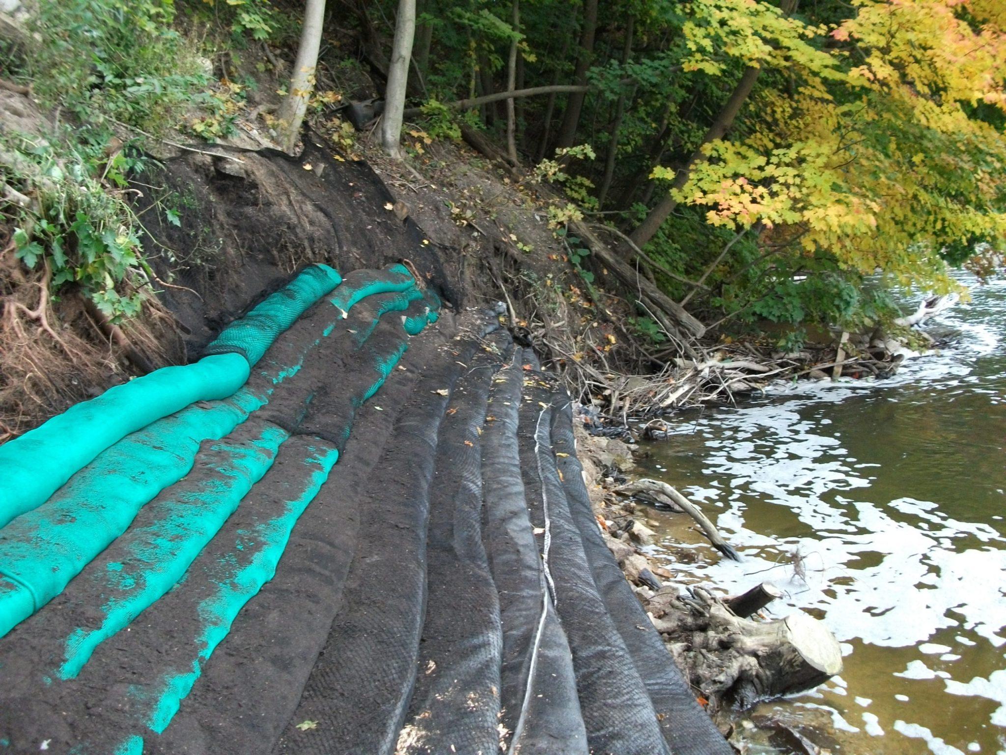 Allegan Dam Shoreline Restoration