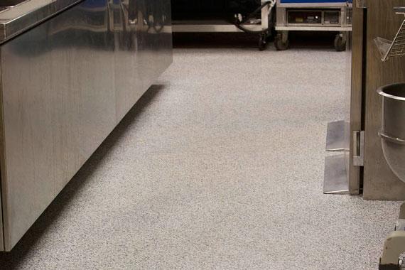 restaurant kitchen floor re finishing