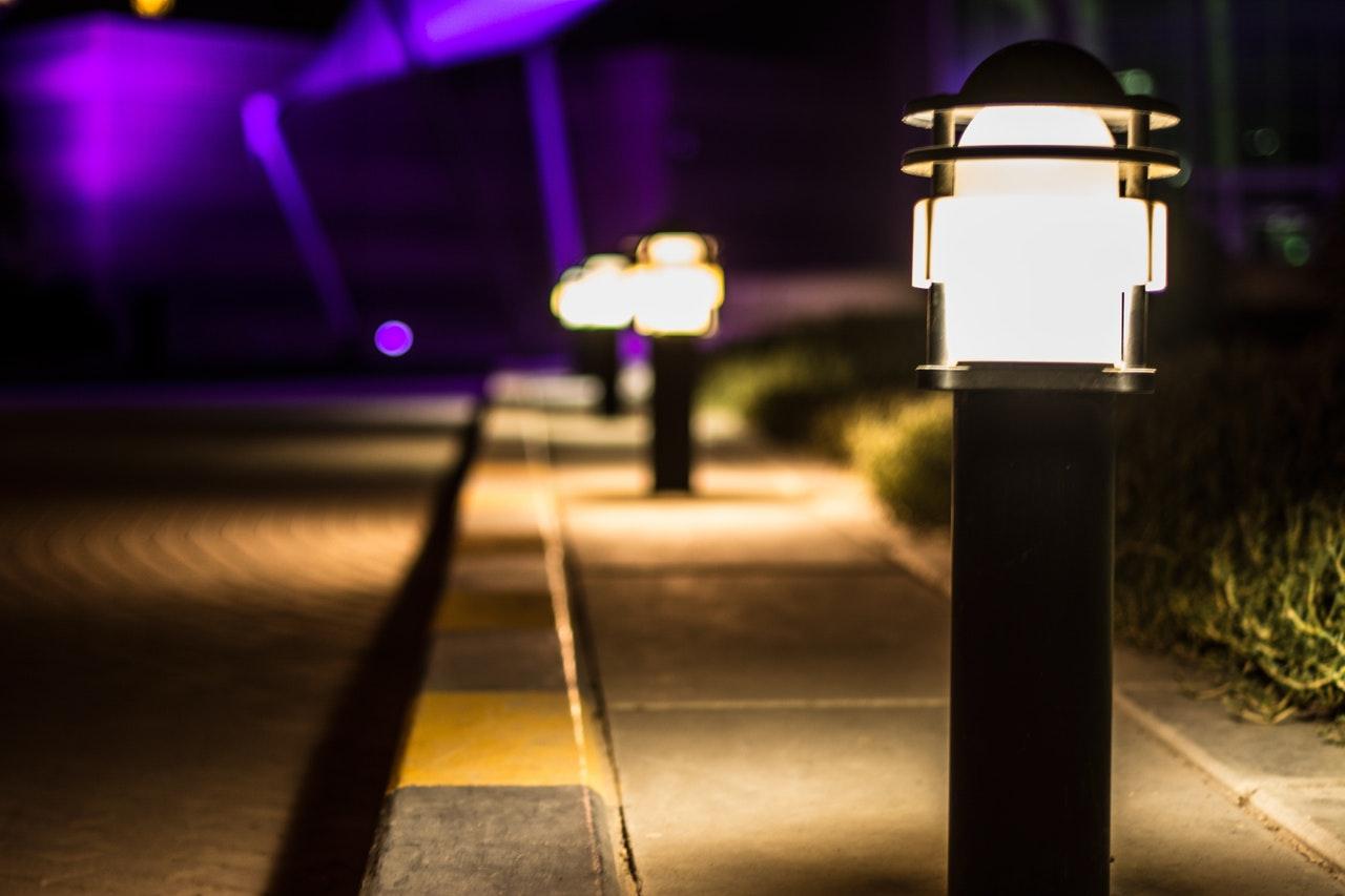 Outdoor Solar Lights Best Fixtures For Commercial Usage Superior Lighting
