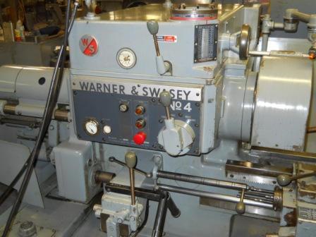 Warner Swasey 4 Turret Lathe