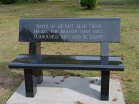 Memorial Benches - Superior Monument Co.