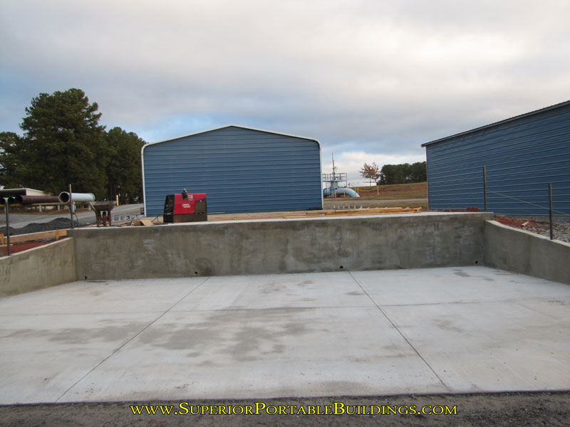 Concrete Loading Docks