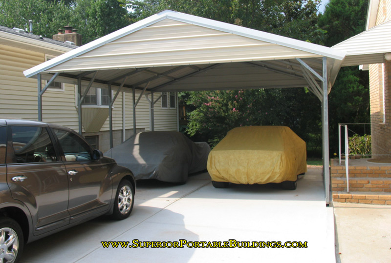 Vertical Roof Steel Carport VC 3