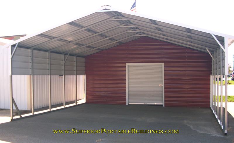 Vertical Roof Steel Carport VC 8