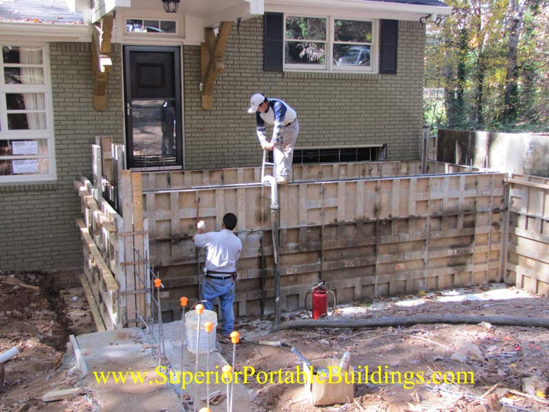 Concrete retaining walls and more