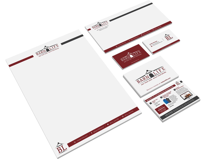 Barnlife | Branding | Logo Design | Print Design | Graphic Design | Medford, MA | Boston, MA