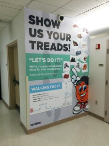 Show Us Your Treads Wall Mural | Verizon Syracuse