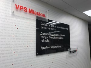VPS Mission - Standoff Signage | Large Format & Display | Medford, MA | Boston, MA