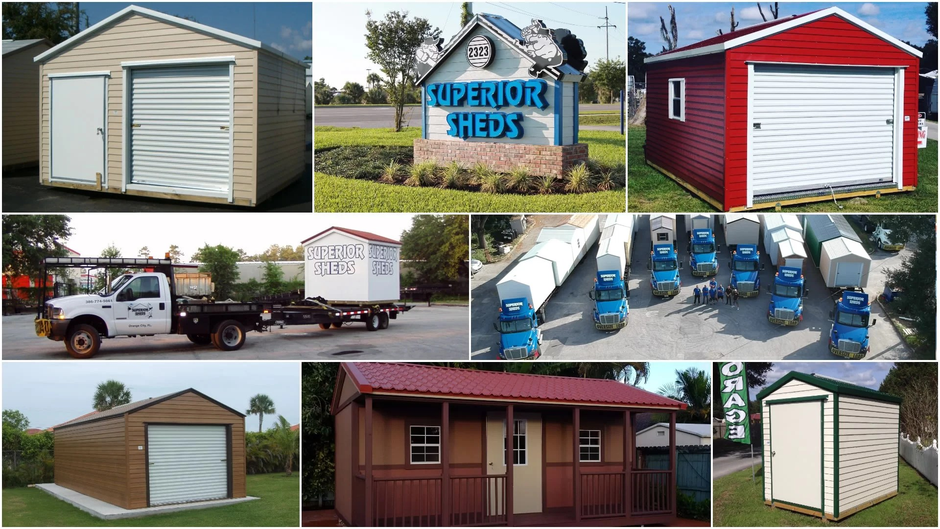 Florida Sheds Carports Garages And Gazebos Superior Sheds