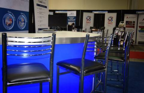 chair cover rentals red deer tall folding event rental furniture from superior show service