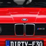 Red Bmw M3 E30 Car Wallpaper
