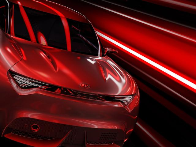 10 years ago what's cool for one person m. Red Kia Sport Car Concept Car Wallpaper