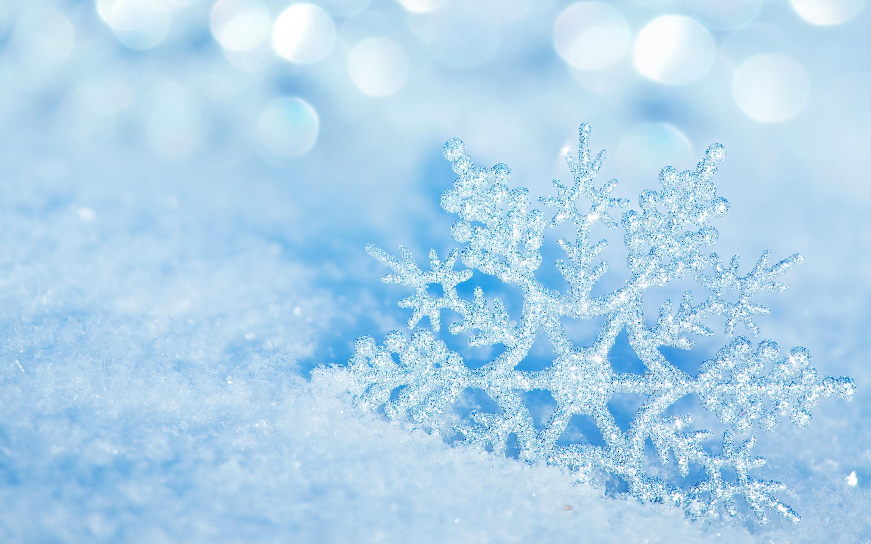 Perfect Snowflake Cold Winter Season