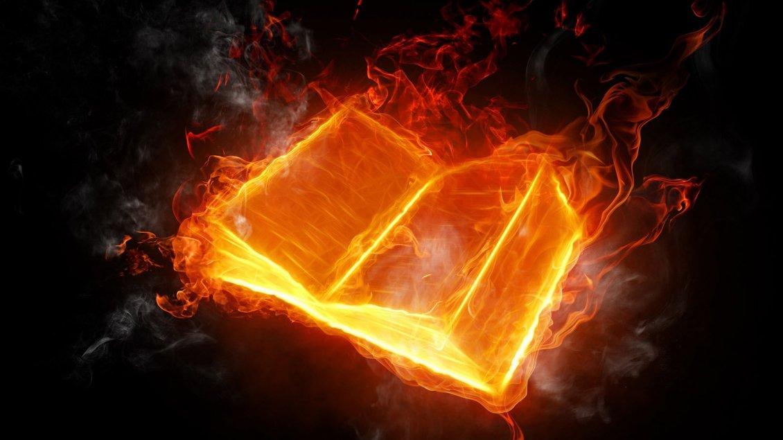 book in flames hd
