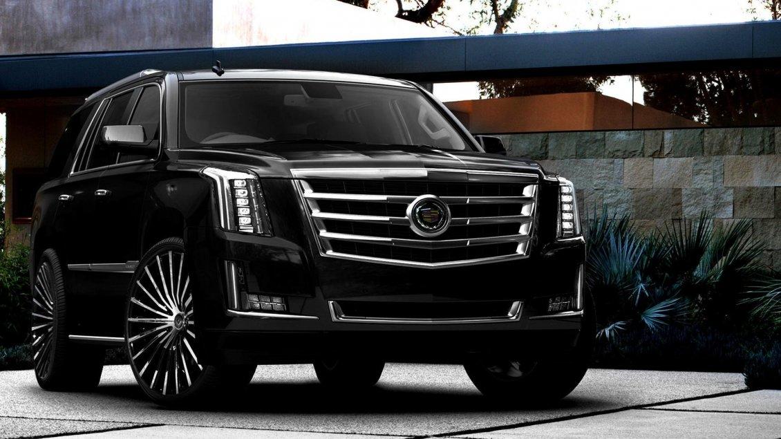 Black Cadillac Escalade Gorgeous Car