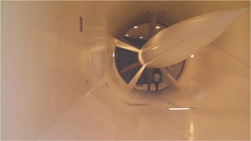 San Diego's Air & Space wind tunnel clean up report