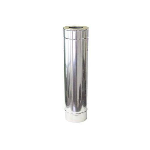 Nerezová izolovaná roura L= 1000 mm, izolace 50 mm