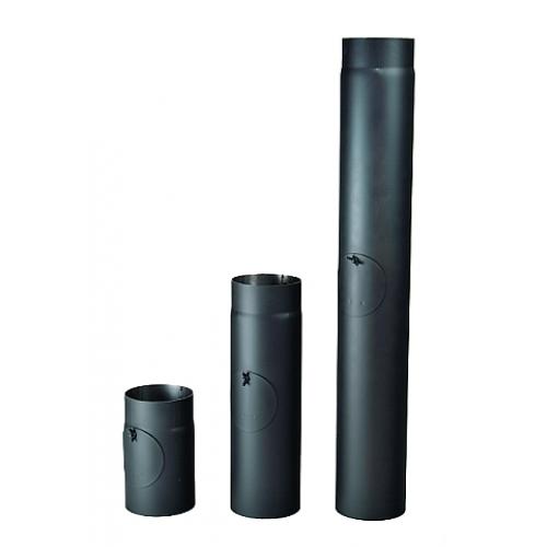 Kouřová roura s čistícím otvorem 125/1000/1