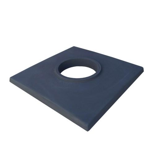Betonová krycí deska jednoprůduchová černá