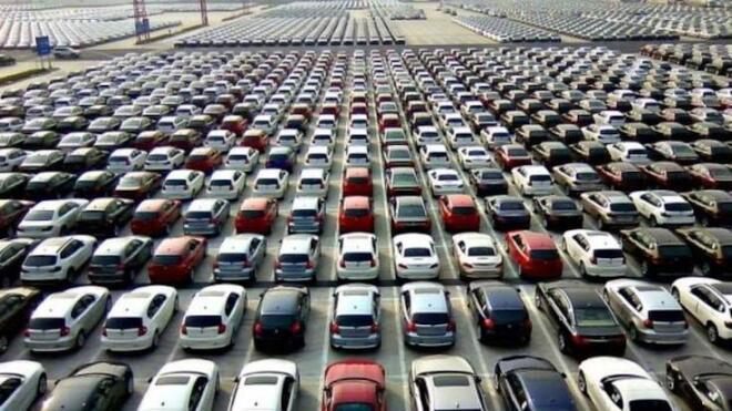 Otomobil satışları yüzde 350,9 arttı
