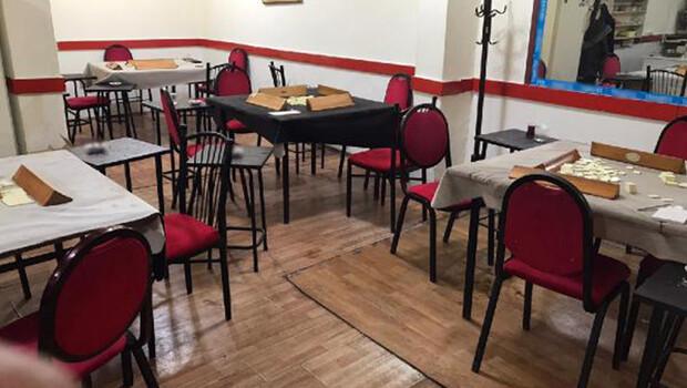 Samsun'da kahvehanede oyun oynayan 16 kişiye 36 bin lira ceza