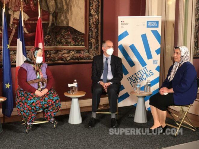 3 e1615196395282 - Engel Tanımayan Kadınlar Fransa Büyükelçiliği'nde