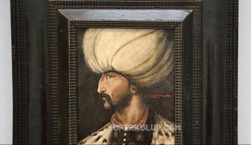 Osmanlı padişahı Kanuni Sultan Süleyman'ın portresi rekor fiyata satıldı!