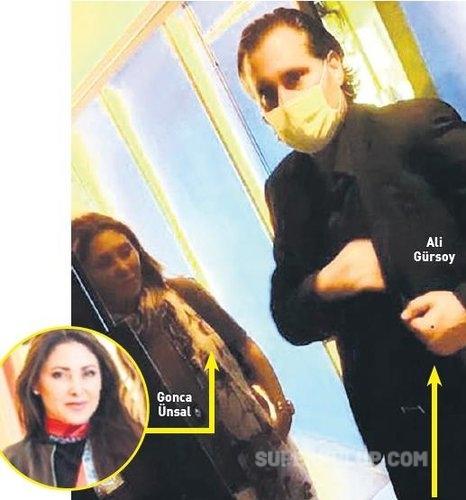 Melis Çiftçi ile evliliğini bitiren işadamı Ali Gürsoy yasak aşkıyla görüntülendi