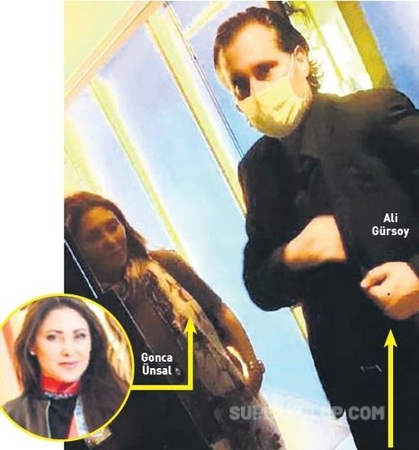 e1614792900159 - İşadamı Ali Gürsoy ile Melis Gürsoy'un evliliğini bitiren isimle görüntülendi